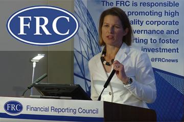 Client portfolio: Financial Reporting Council